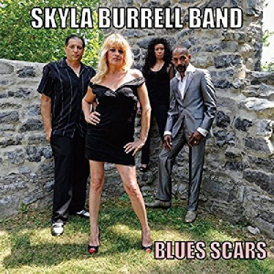 Skyla Burrell Band Blues Scars