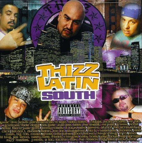 Thizz Latin South Thizz Latin South Explicit Version 2 CD Set