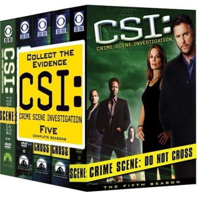 C.S.I. Seasons 1 5 Clr Nr 31 DVD