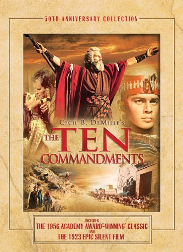 Ten Commandments Ten Commandments Clr Ws Fs G Anniversary Ed