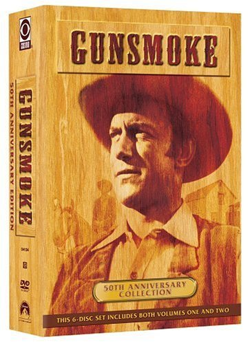 Gunsmoke Vol. 1 2 50th Anniversary Ed. Clr Nr 6 DVD