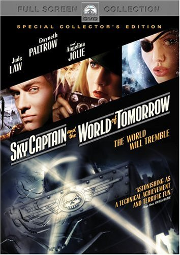 Sky Captain & The World Of Tom Law Paltrow Jolie Pg