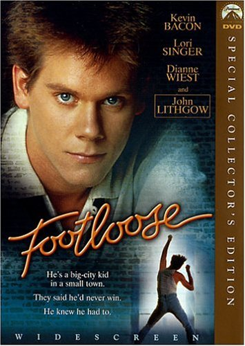 Footloose Bacon Singer Wiest Lithgow Clr Ws Pg Special Ed.