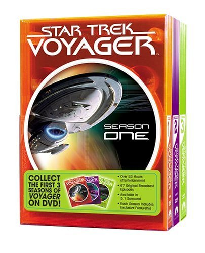 Star Trek Voyager Season 1 3 Clr Nr 19 DVD
