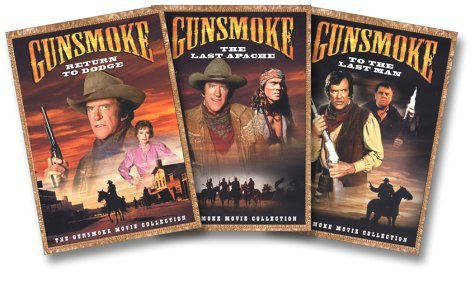 Gunsmoke Movie Collection 3 Pa Return To Dodge Last Apache To Clr Nr 3 DVD