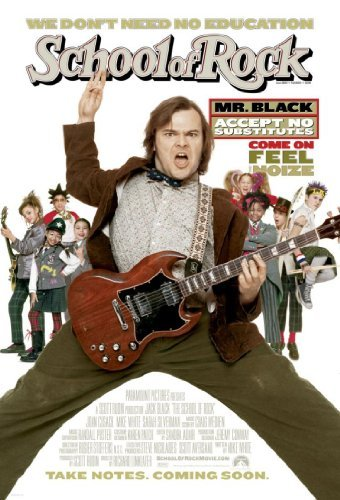 School Of Rock Black Cusack