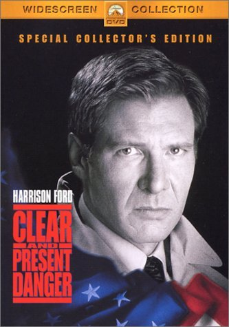 Clear & Present Danger Ford Dafoe Archer Jones Clr Cc Ws Pg13 Special Col