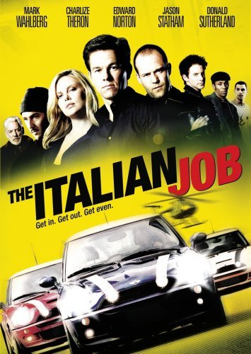 Italian Job (2003) Wahlberg Theron Norton Green Clr Pg13