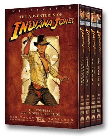 Indiana Jones Collection Harrison Ford Raiders Temple Last Crusade Bonus Nr 4 DVD