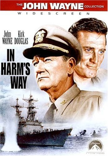 In Harm's Way Wayne Douglas Neal Tryon Prent DVD Nr