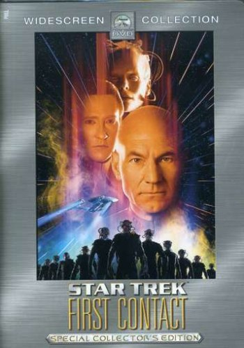 Star Trek First Contact Stewart Frakes Spiner Burton Clr Ws Pg13 2 DVD Coll