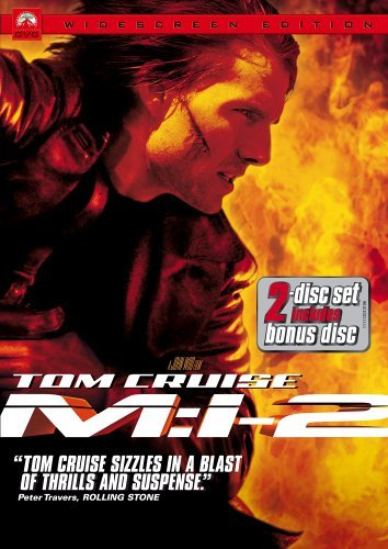 Mission Impossible 2 Cruise Scott Newton Clr Ws Pg13 2 DVD Speci