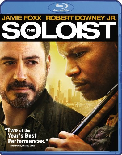 The Soloist Downey Foxx Keener Blu Ray Pg13
