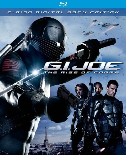 G.I. Joe The Rise Of Cobra Quaid Tatum Miller Wayans Ws Blu Ray Incl. Digital Copy Pg13 2 DVD