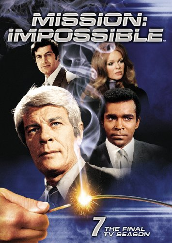 Mission Impossible Season 7 Final Season DVD Mission Impossible Final Tv