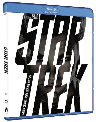 Star Trek Star Trek (2009) Pine Bana Quinto Nimoy Pg13 3 DVD Incl. Digital Copy