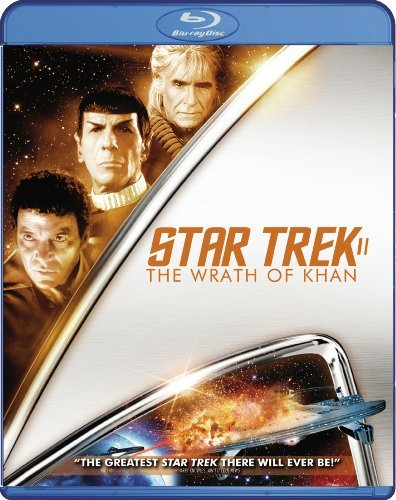 Star Trek 2 Wrath Of Khan Shatner Nimoy Blu Ray Ws Pg