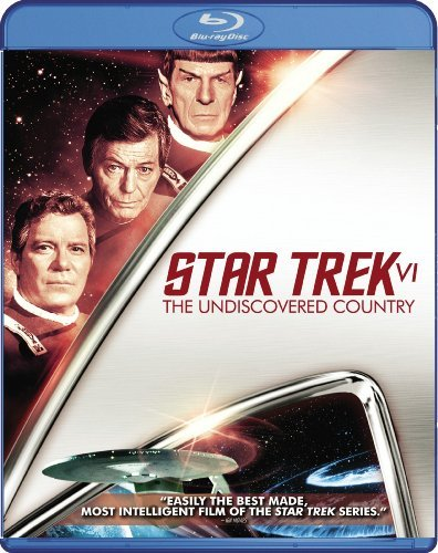 Star Trek 6 Undiscovered Count Shatner Nimoy Blu Ray Ws Pg