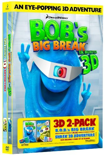 B.O.B.'s Big Break Shrek 3d B.O.B.'s Big Break Shrek 3d Ws Nr 2 DVD