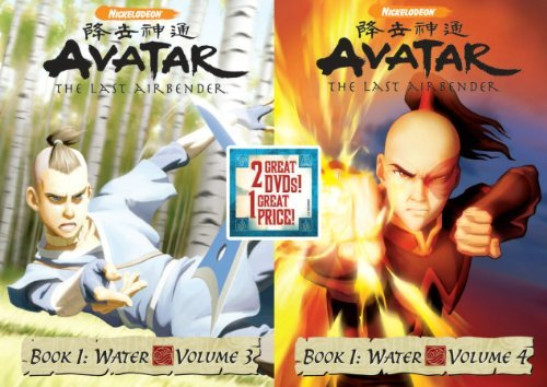 Avatar The Last Airbender Vol. 3 4 Book 1 Back To Back Nr