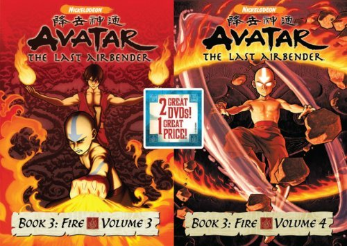 Vol. 3 4 Book 3 Avatar The Last Airbender Back To Back Nr