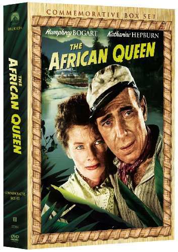 African Queen Bogart Hepburn Nr Incl. CD Book