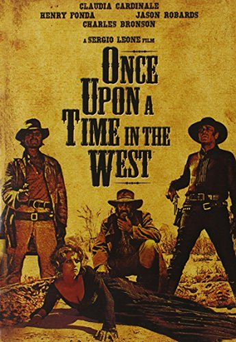 Once Upon A Time In The West Bronson Fonda Robards Cardinale DVD Pg13
