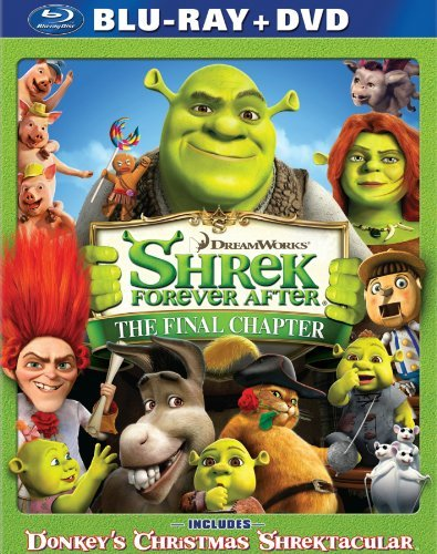 Shrek Forever After Shrek Forever After Blu Ray Ws Pg Incl. DVD