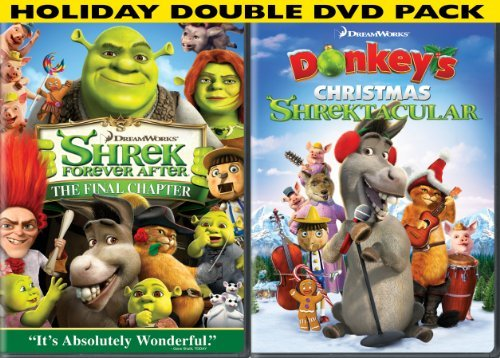 Shrek Forever After Donkey's C Shrek Forever After Donkey's C Ws Side By Side Pg 2 DVD