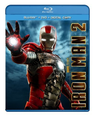 Iron Man 2 Downey Paltrow Cheadle Blu Ray Ws Pg13 2 Br Incl. DVD Dc
