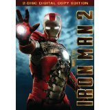 Iron Man 2 Downey Paltrow Cheadle Ws Pg13 2 DVD Incl. Digital Copy