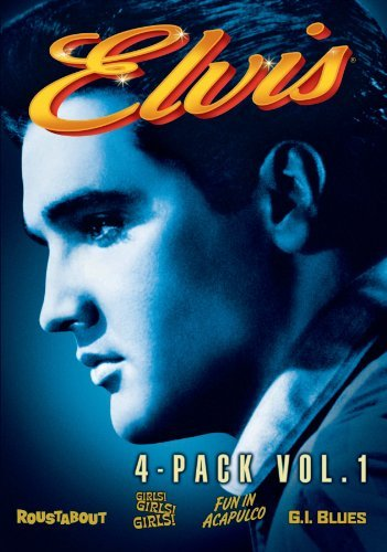 Presley Elvis Vol. 1 Elvis Four Movie Collec Ws Pg 4 DVD