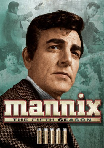 Mannix Season 5 DVD