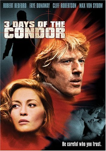 3 Days Of The Condor Redford Dunaway DVD R