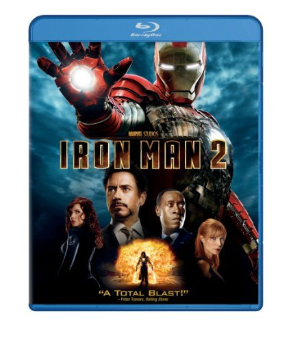 Iron Man 2 Downey Paltrow Cheadle Blu Ray Ws Pg13