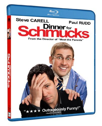 Dinner For Schmucks Carell Rudd Blu Ray Ws Pg13