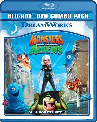 Monsters Vs. Aliens Monsters Vs. Aliens Blu Ray Ws Pg Incl. DVD Dc