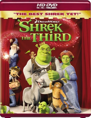 Shrek The Third Shrek The Third Ws Hd DVD Pg