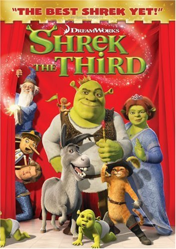 Shrek The Third Shrek The Third DVD Pg