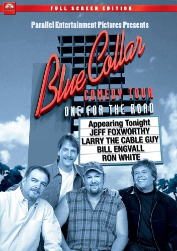 Blue Collar Comedy Tour One For The Road Foxworthy Larry The Cable Guy Engvall White Clr Nr