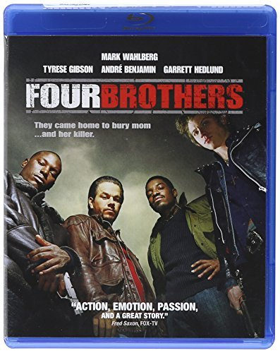 Four Brothers Wahlberg Gibson Howard Blu Ray Clr Ws R