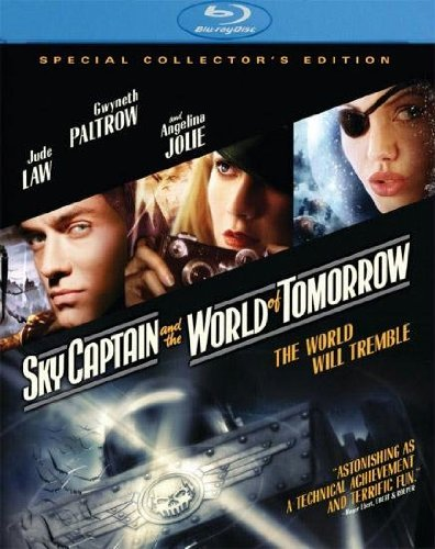Sky Captain & The World Of Tom Law Paltrow Jolie Blu Ray Clr Ws Pg