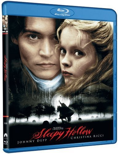 Sleepy Hollow Depp Gambon Ricci Blu Ray Clr Ws R