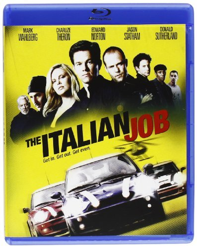 Italian Job Wahlberg Theron Norton Green Pg13