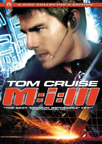 Mission Impossible 3 Cruise Rhames Fishburne Clr Ws Pg13 2 DVD Coll