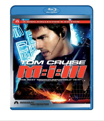 Mission Impossible 3 Cruise Rhames Fishburne Clr Ws Blu Ray Pg13 2 DVD Coll