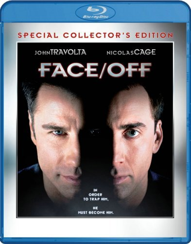 Face Off Travolta Cage Allen Blu Ray Ws R