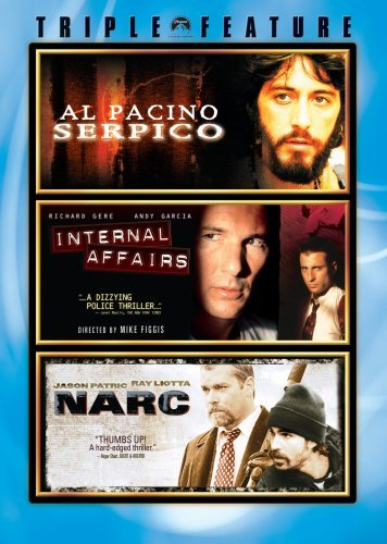 Serpico Narc Internal Affairs Serpico Narc Internal Affairs Ws Nr 3 DVD