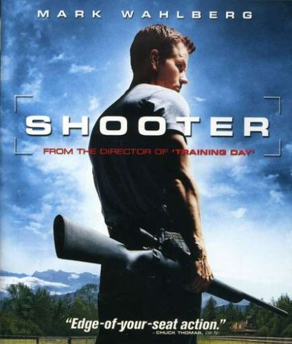 Shooter Wahlberg Pena Glover Blu Ray Ws R