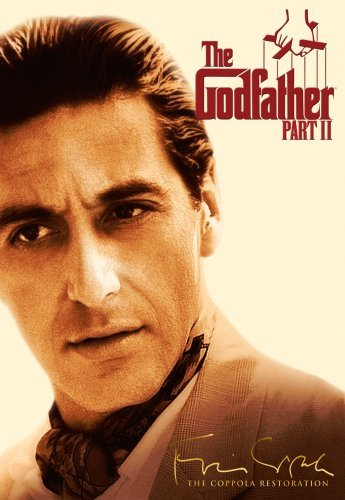 Godfather Pt. 2 Pacino Duvall Deniro Ws Coppola Restoration R